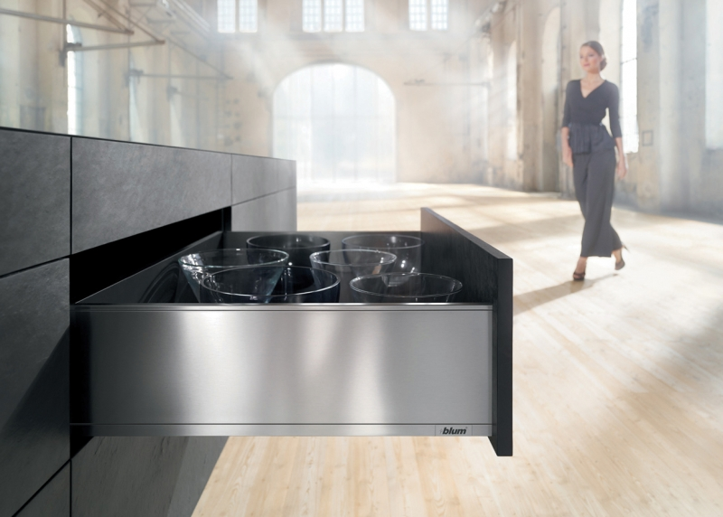 Blum LEGRABOX drawer stainless steel