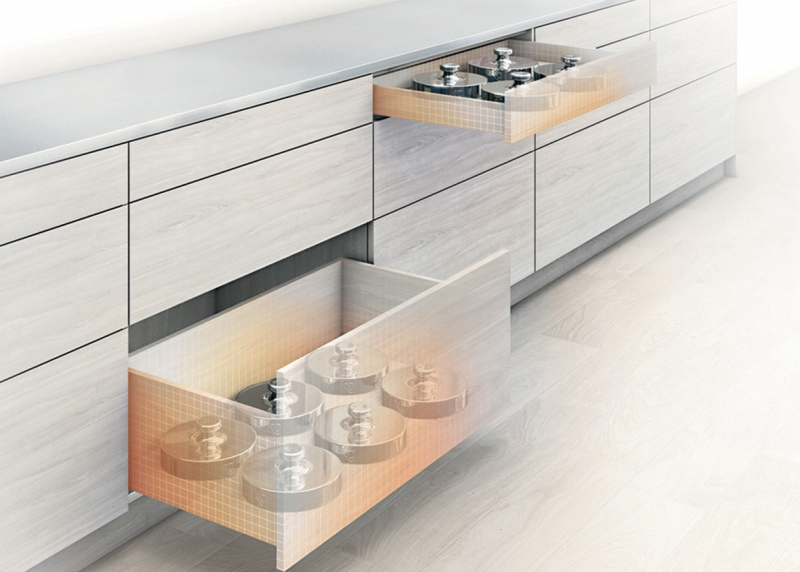 Blum MOVENTO Runner 40 and 60 kg weight capacity