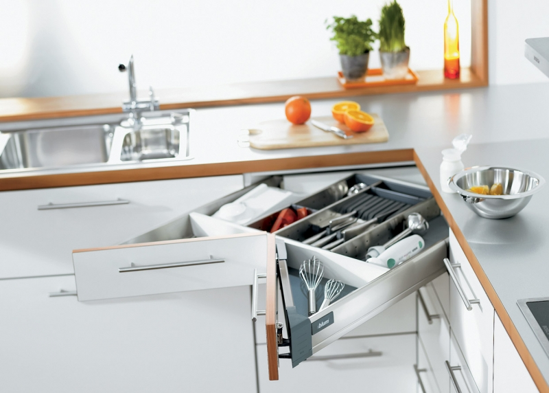 Space Corner - Cutlery Drawer